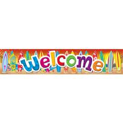 Surfs Up Welcome Banner By Teacher Created Resources