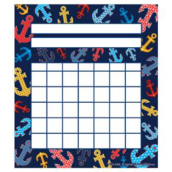 Anchors Incentive Charts By Teacher Created Resources