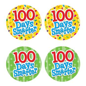 100 Days Smarter Wear Em Badges By Teacher Created Resources