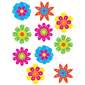 Fun Flowers Accents By Teacher Created Resources