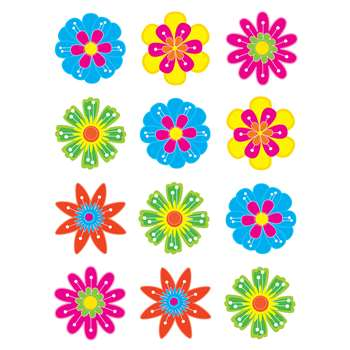 Fun Flowers Mini Accents By Teacher Created Resources