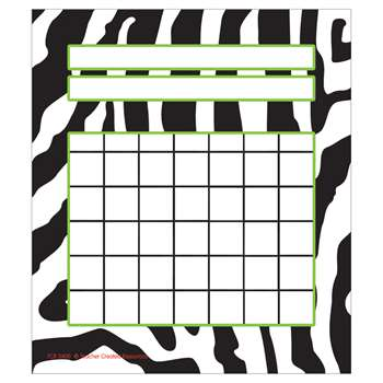 Zebra Incentive Charts Pack By Teacher Created Resources