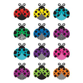 Shop Colorful Ladybugs Mini Accents - Tcr5410 By Teacher Created Resources
