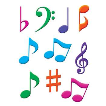 Shop Musical Notes Accents - Tcr5417 By Teacher Created Resources