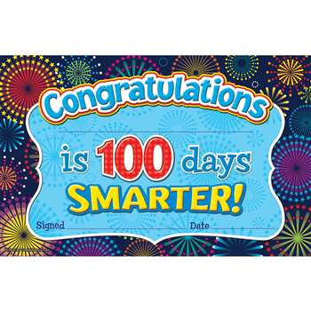 Shop Fireworks 100 Days Smarter Awards - Tcr5425 By Teacher Created Resources