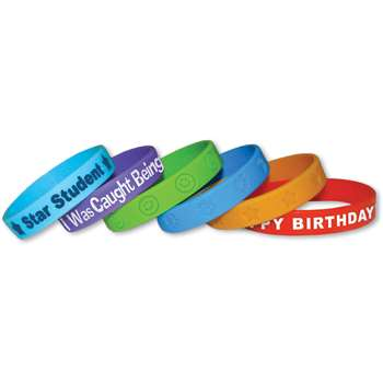Wristbands Valu Pak 24 Pk By Teacher Created Resources