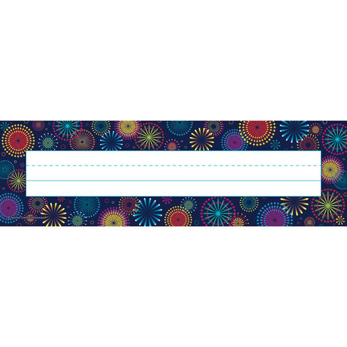 Shop Fireworks Name Plates - Tcr5457 By Teacher Created Resources