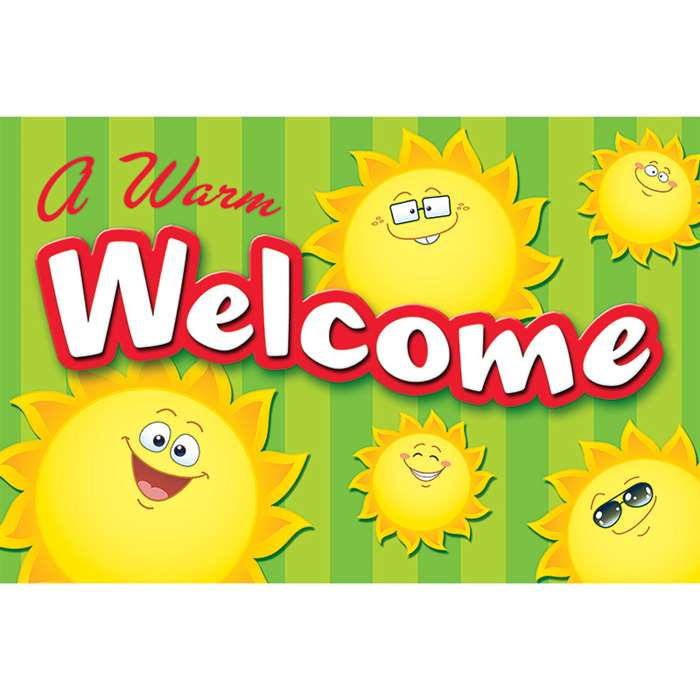 Happy Suns Welcome Postcards, TCR5461