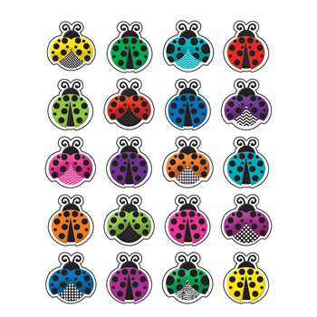 Shop Colorful Ladybugs Stickers - Tcr5462 By Teacher Created Resources
