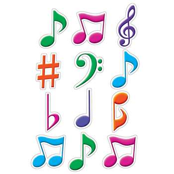 Shop Musical Notes Mini Accents - Tcr5482 By Teacher Created Resources