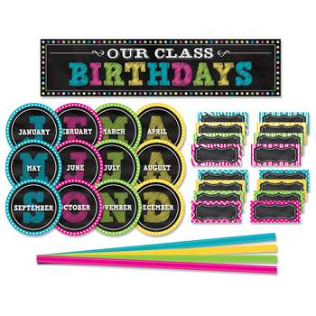 Chalkboard Brights Mini Bb Set, TCR5506
