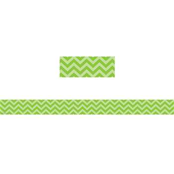 Shop Lime Chevron Straight Border Trim - Tcr5507 By Teacher Created Resources
