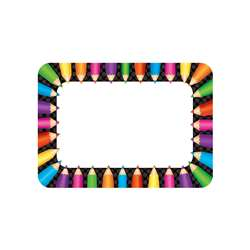 Colored Pencils Name Tags, TCR5513