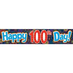 Shop Fireworks Happy 100Th Day Banner - Tcr5516 By Teacher Created Resources
