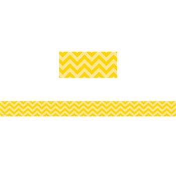 Shop Yellow Chevron Straight Border Trim - Tcr5521 By Teacher Created Resources
