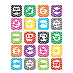 Shop Chevron Stickers - Tcr5532 By Teacher Created Resources