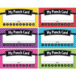 Polka Dots Punch Cards, TCR5608