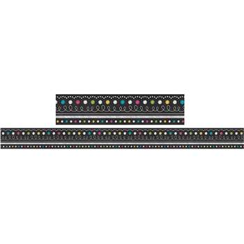 Chalkboard Brights Straight Border Trim, TCR5619