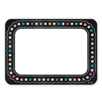 Chalkboard Brights Name Tags, TCR5623