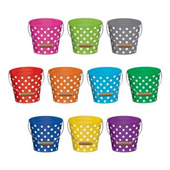 Polka Dots Buckets Accents, TCR5631