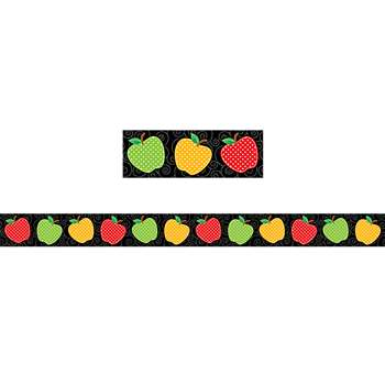 Dotty Apples Straight Border Trim, TCR5637
