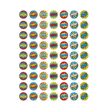 Superhero Mini Stickers, TCR5642