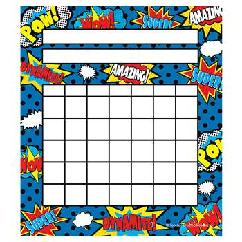 Superhero Incentive Charts, TCR5646