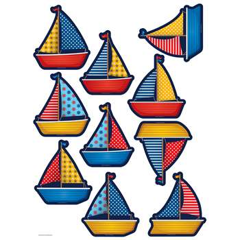 Sailboats Accents, TCR5656