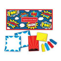 Superhero Sticky Notes, TCR5664