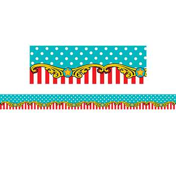 Carnival Straight Border Trim, TCR5705