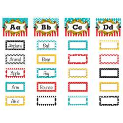 Carnival Alphabet Word Wall Bulletin Board Set, TCR5706