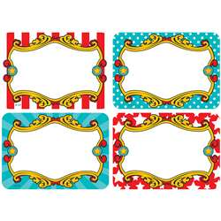 Carnival Name Tags Labels Mutlipack, TCR5709