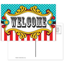 Carnival Welcome Postcards, TCR5716