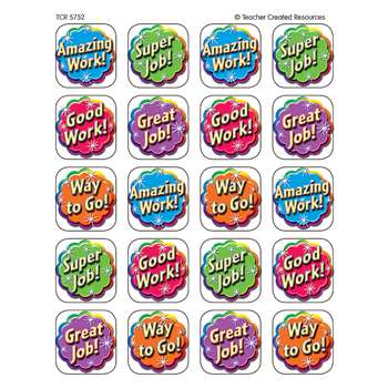 Good Work Stickers 120 Stks By Teacher Created Resources