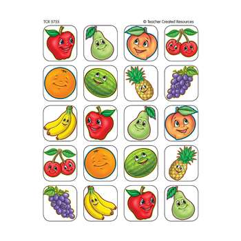 Fruits Stickers 120 Stks By Teacher Created Resources