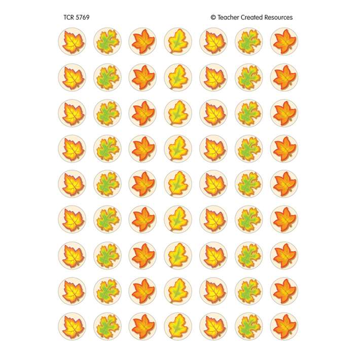 Fall Mini Stickers 378 Stks By Teacher Created Resources