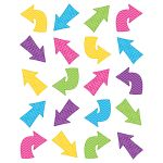 Chevron Arrows Stickers Die Cut, TCR5797