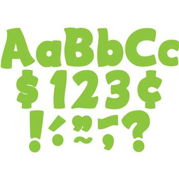 "Lime Funtastic 4 "" Letters Combo Pk, TCR5820"