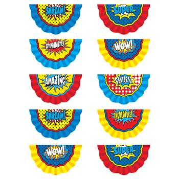 Superhero Bunting Accents, TCR5824