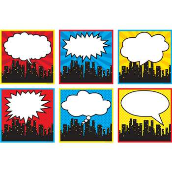 Superhero Cityscape Large Accents, TCR5832