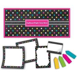 Chalkboard Brights Sticky Notes, TCR5833