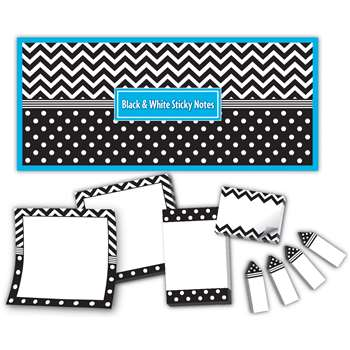 Black & White Sticky Notes, TCR5834