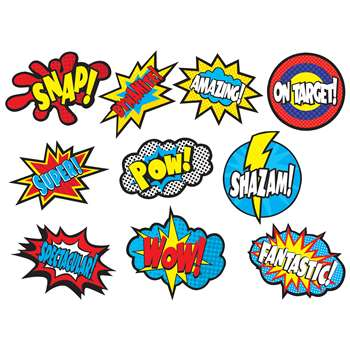 Superhero Sayings Accents, TCR5835