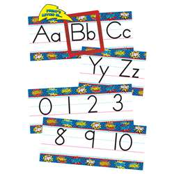 Superhero Alphabet Line Bulletin Board Set, TCR5846
