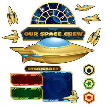Space Bulletin Board Set, TCR5850