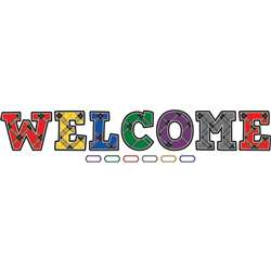 Plaid Welcome Bulletin Board, TCR5865