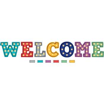 Marquee Welcome Bulletin Board, TCR5869