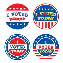I Voted Today Wear Æem Badges, TCR5898
