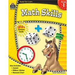 Ready-Set-Learn Math Skills Gr 1 By Teacher Created Resources