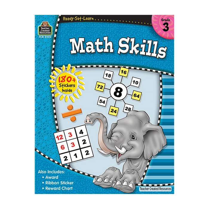 Ready-Set-Learn Math Skills Gr 3 By Teacher Created Resources